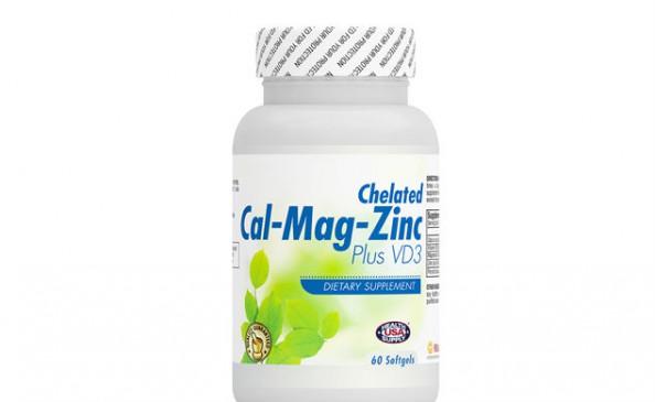 Cal-Mag-Zinc Plus Vitamin D3 #2116