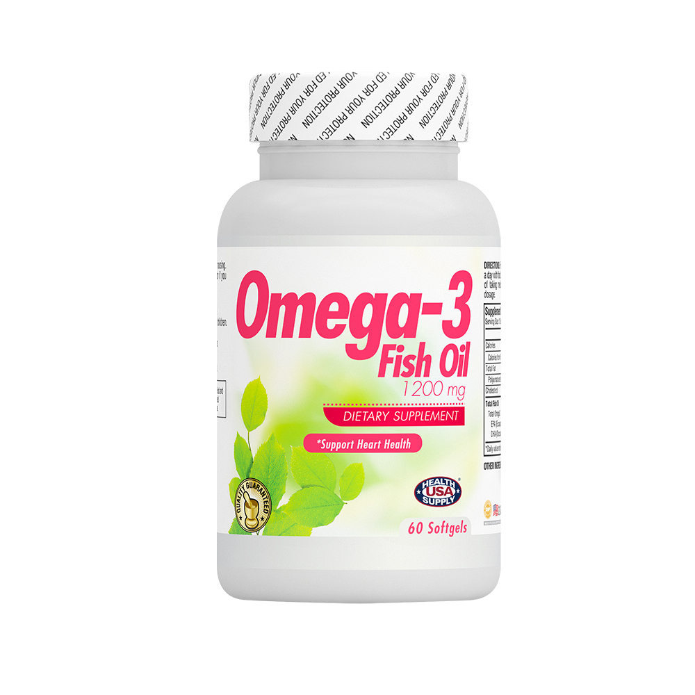 Omega 3 fish oil 1200mg 2717 usa health supply for Fish oil benefit