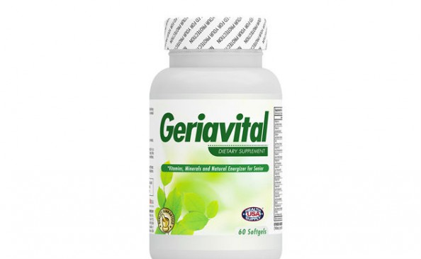 Geria Vital (Vitamins, Minerals and Natural Energizer for Senior) #2121