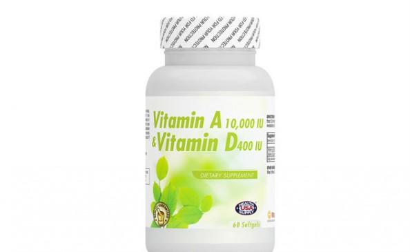 Vitamin A 10,000IU & Vitamin D 400IU #2123