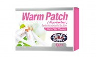 Warm Patch for discomfort for knee (Non-herbal) #520-3002
